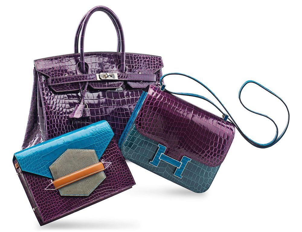 b78dee515413 Special Offer! Luxury Genuine Alligator Handbag in 2019