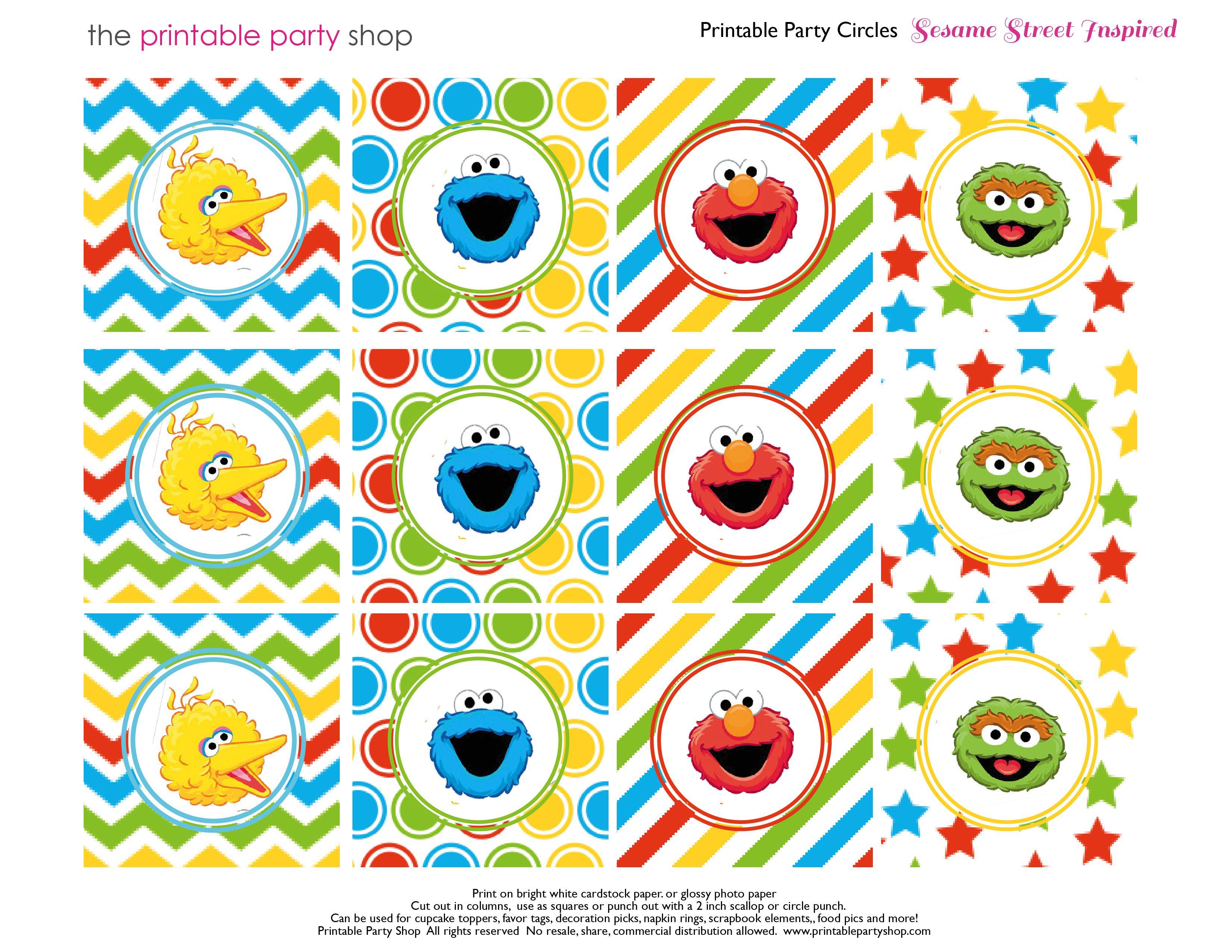 Elmo Cupcake Cake Pattern