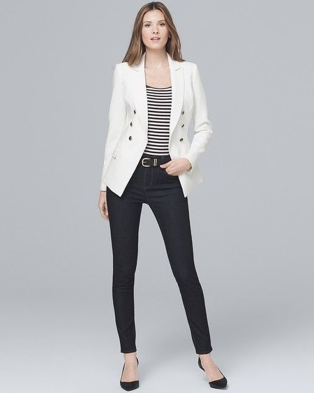 c0bb4f1b66a Women's High-Rise Sculpt Fit Skinny Jeans by White House Black Market