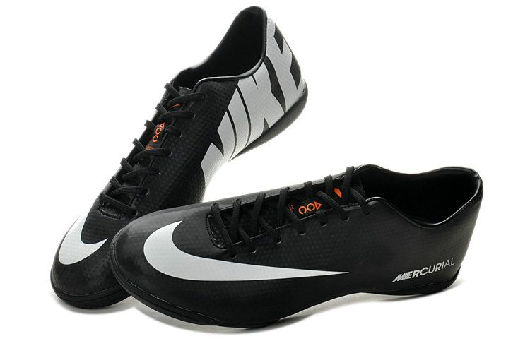 Nike Mercurial Vapor IX ACC IC Indoor Soccer Shoes - Black White