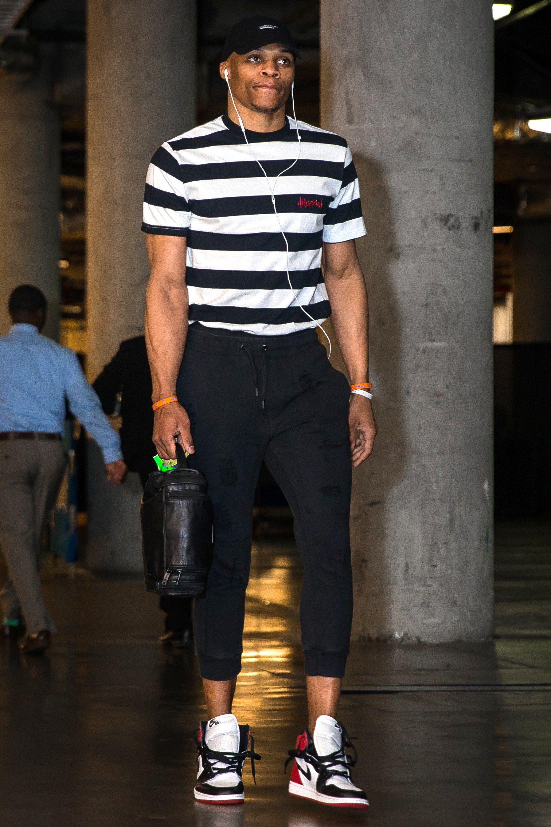 Russell Westbrook's Wildest, Weirdest, and Most Stylish Pregame Fits