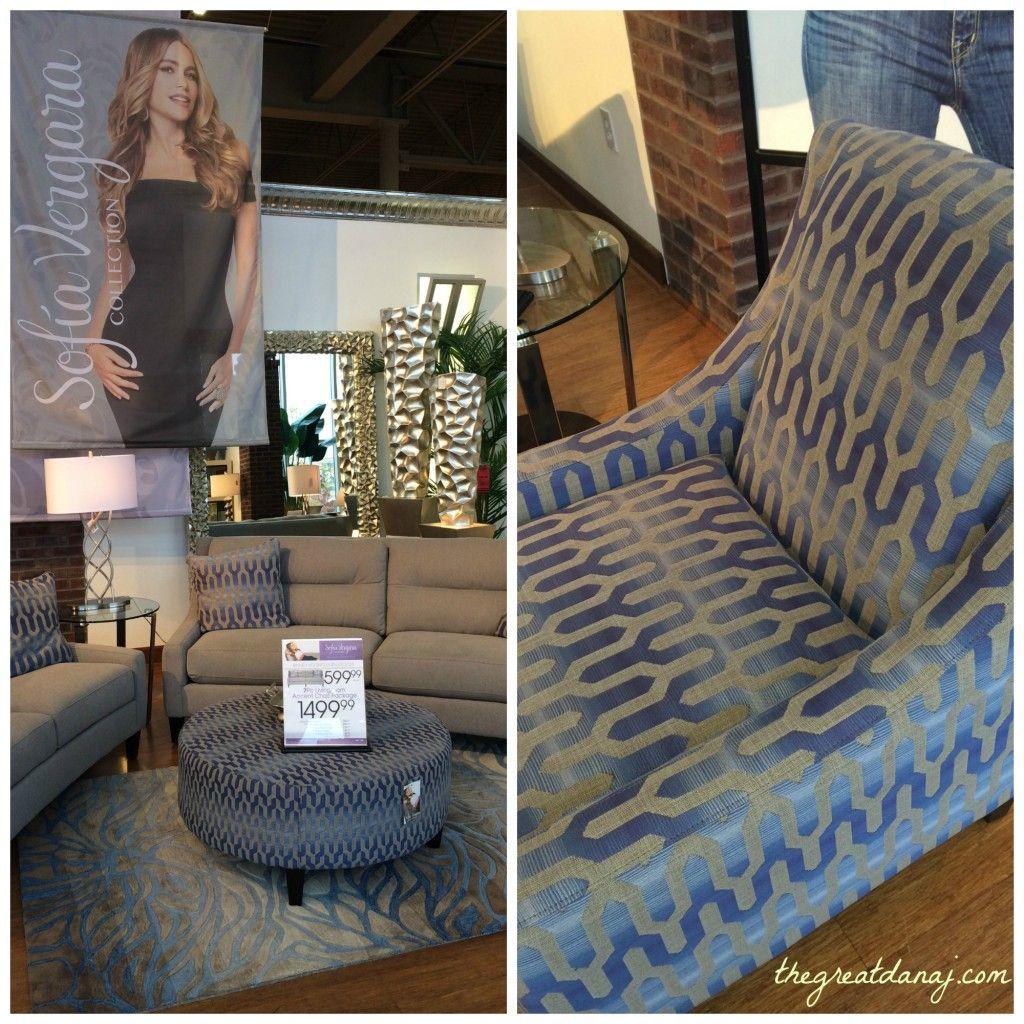 Sofia Vergara For Rooms To Go Living Room Pieces