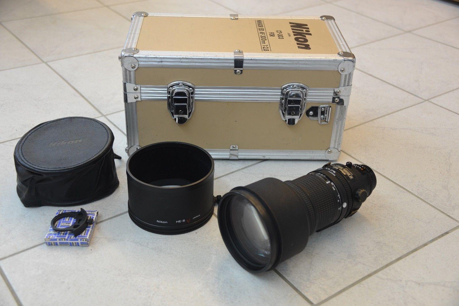 Nikon Af Nikkor 300mm F 2 8 If Ed Lens Not Refurbished From Canada Refurbishing Nikon Lens