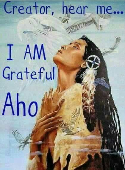Native american word aho