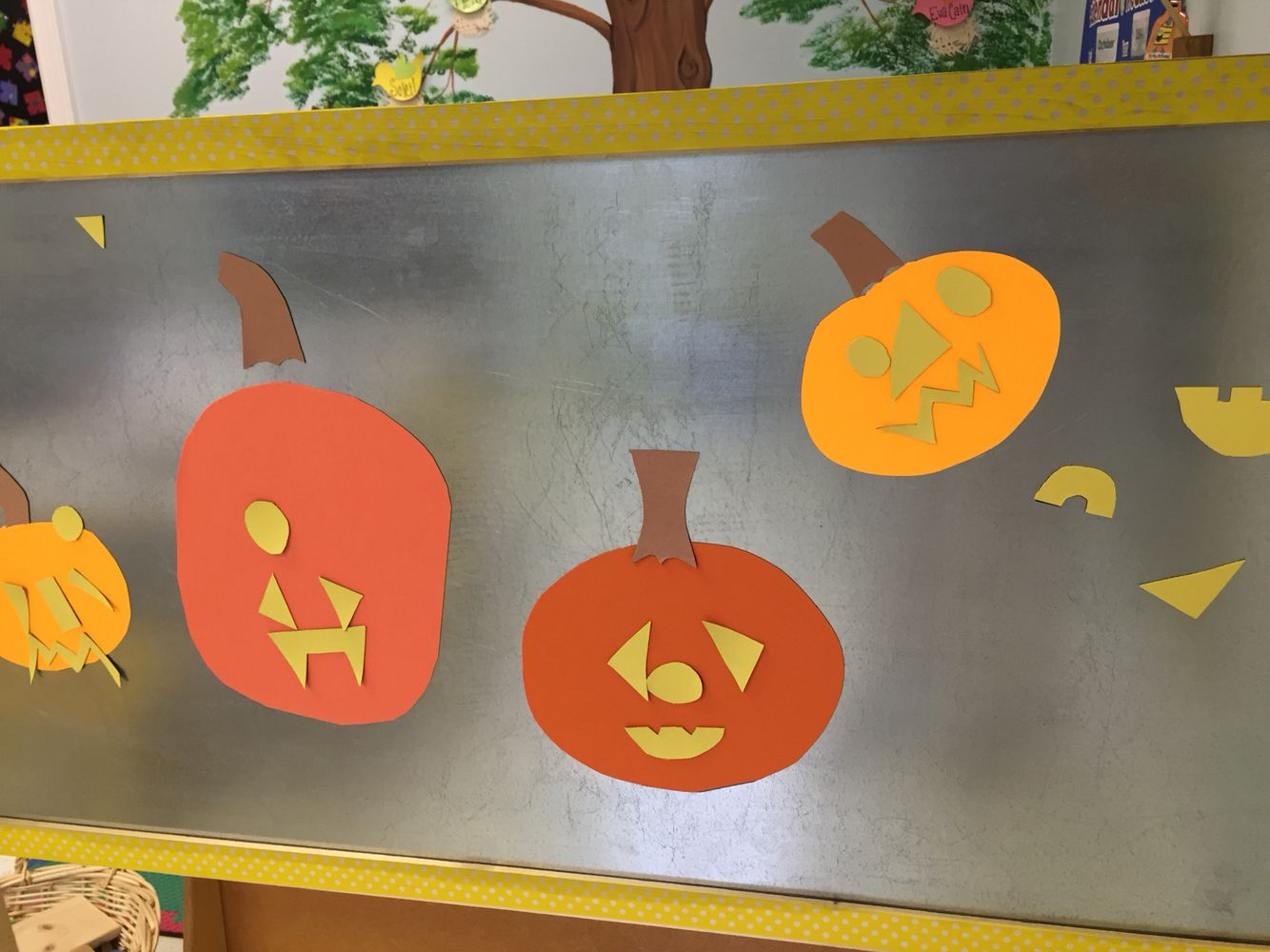 Magnetic Jack O Lanterns
