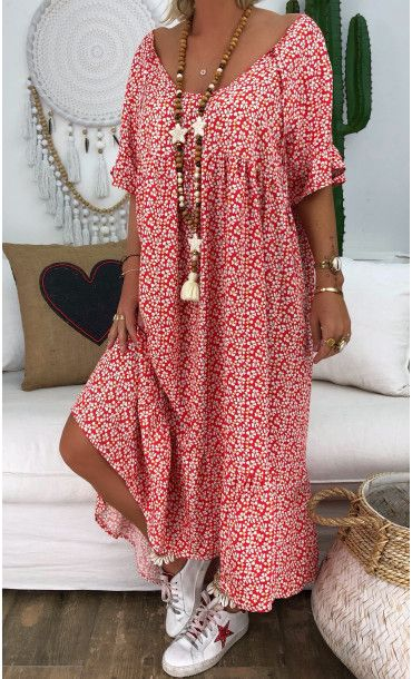 Robe Awa Rouge Marigold