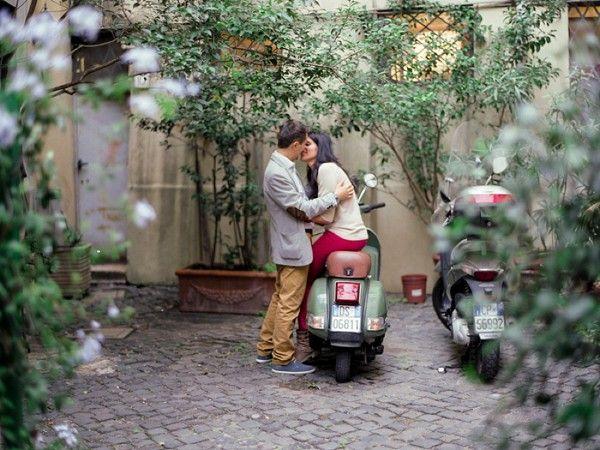 Autumn Rome Engagement Shoot