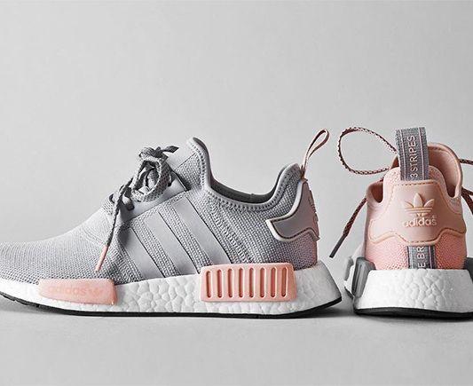 adidas nmd r1 rosa grau