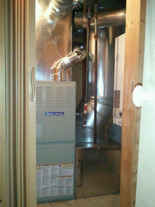 American Standard Silver Si 80 Single Stage Furnace Also Know As The American Standard 80 F Air Conditioner Installation Forced Air Furnace American Standard