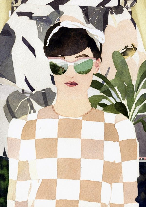 I LOVE ILLUSTRATION #MarcelGeorge #watercolour