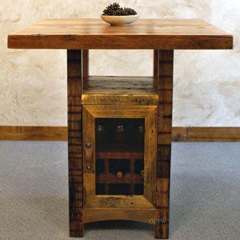 Riverwoods Reclaimed Rustic Pub Table