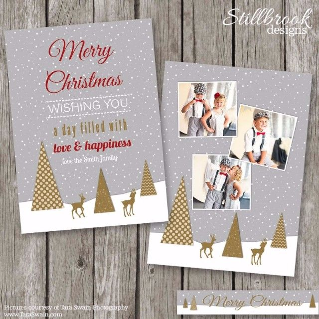 25 Printable Holiday Card Templates Word Psd Ai Indesign Pdf Eps Christmas Photo Card Template Christmas Card Layouts Holiday Card Template