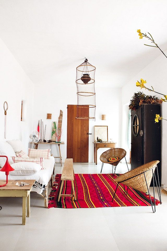 Design My Own Living Room Online Free Pop Of Color In This Lounge Room With The Bright Red Rug