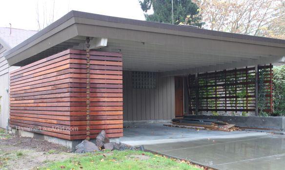 Carport enclosure kind of the right idea could also put for Garage ouvert autour de moi