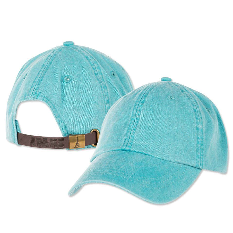 Keep cool under the sun with Adam s Cap 6-Panel Low-Profile Washed Pigment-Dyed  Cap. Made with 100% garment washed cotton twill to give it a vintage  finish 2c0c8f935d8e