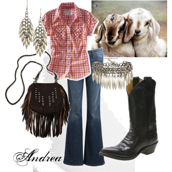 Country Kickin' Days, created by andreahaywood on Polyvore