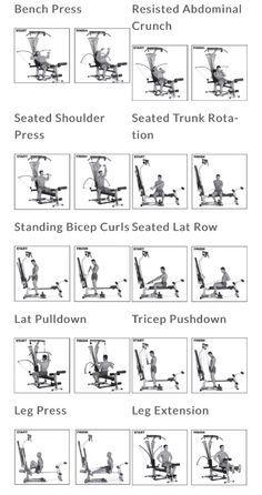 bowflex workout  bowflex workout cable workout bowflex