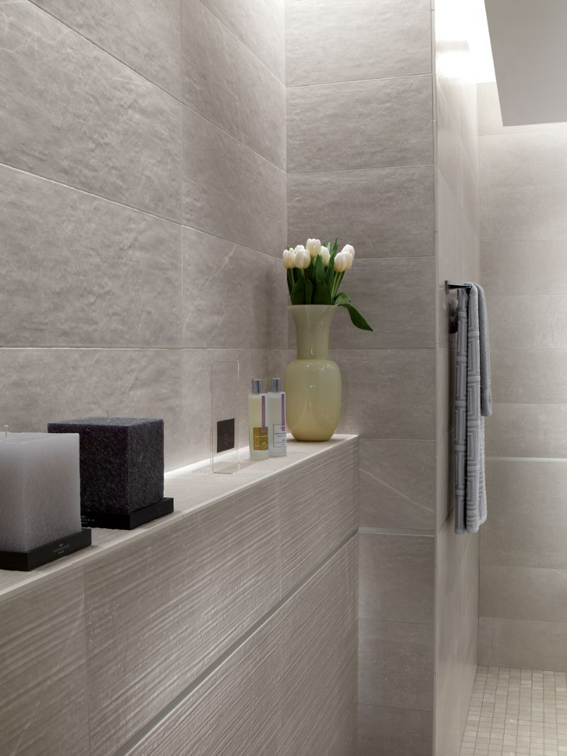 Mk Grey Rock Zenpuristmoderninteriorsarchitecture Tiles