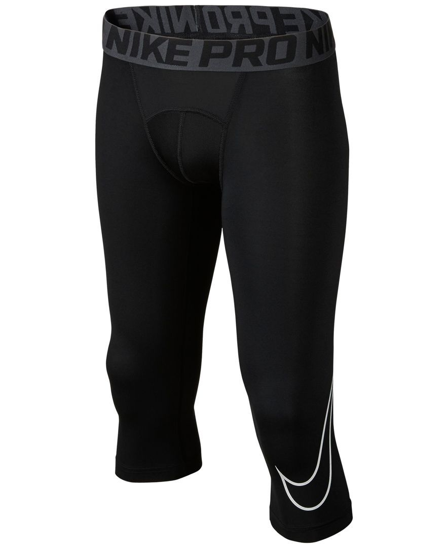 30e045f3f5a5c Nike Boys' Pro Cool Hbr Three-Quarter Compression Tights | Daniel's ...