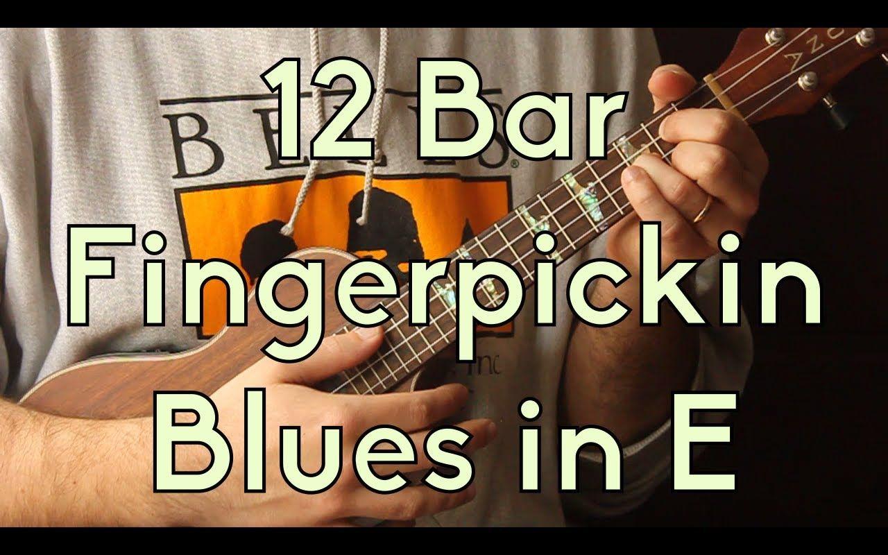 How to play intermediate ukulele 12 bar fingerpickin