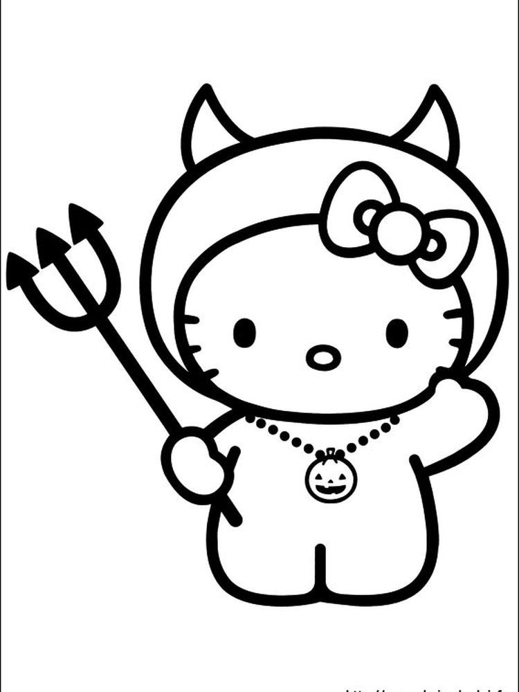Hello Kitty Gymnastics Coloring Pages When We First Heard Hello Kitty The First One That Occu In 2020 Hello Kitty Colouring Pages Kitty Coloring Hello Kitty Coloring