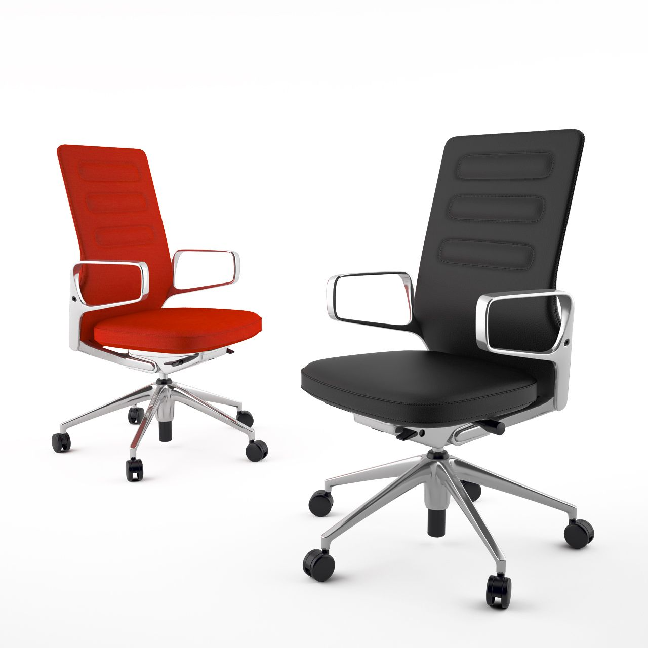 Free 3d model: AC 4 Office Chair by Vitra http://dimensiva.com/ac-4-office-chair-by-vitra/