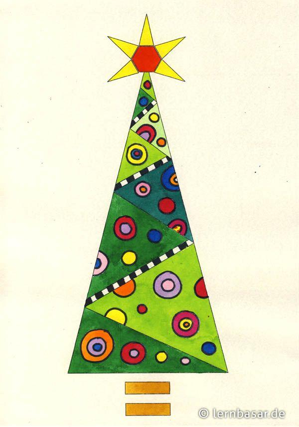 pin von julie clark auf xmas tree art weihnachtskunst. Black Bedroom Furniture Sets. Home Design Ideas