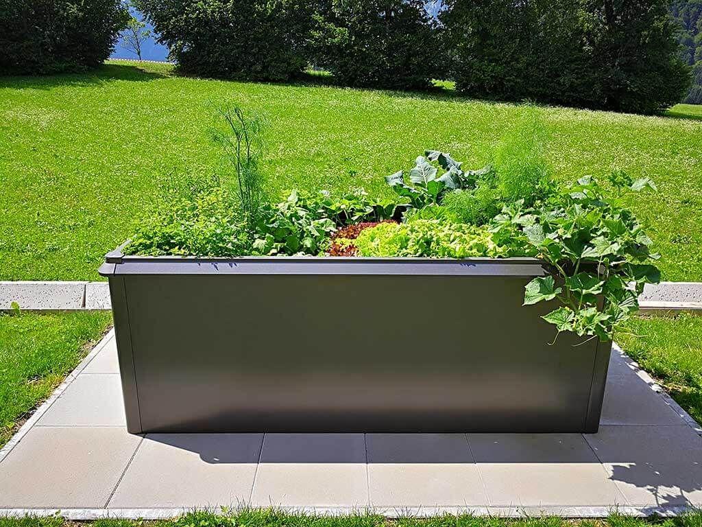 Clever Anbauen Hochbeet Haus Und Garten Hochbeet Aus Metall