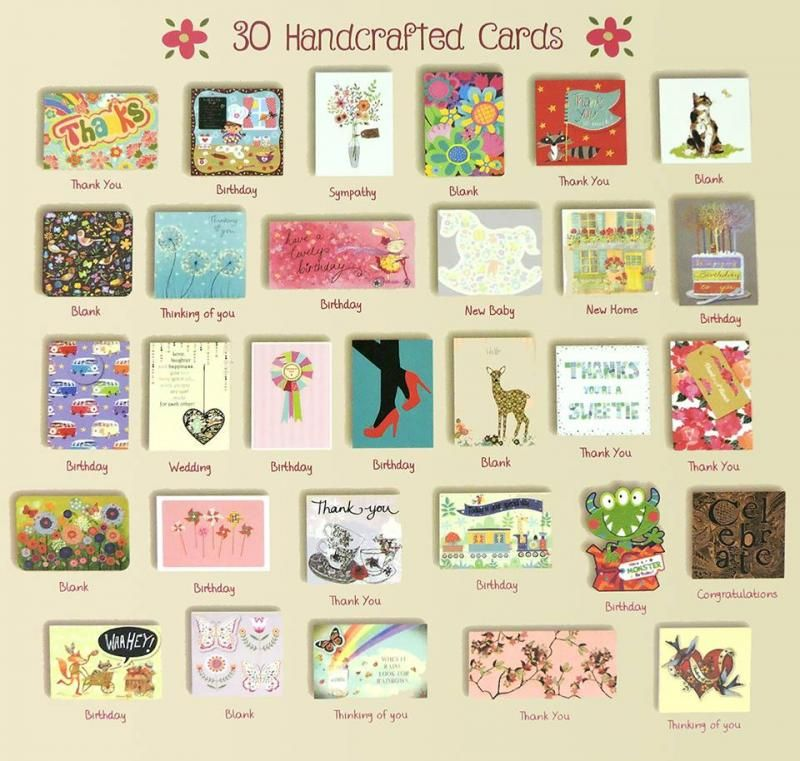 All Occasion Box 1 CFAC Cards for a Cause Usborne Books & More