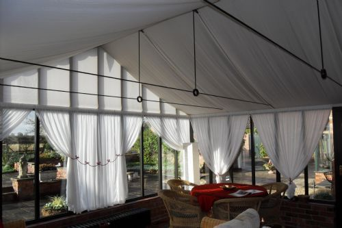 Conservatory Ceiling Drapes Google Search Roof Lantern Suspended Ceiling Conservatory