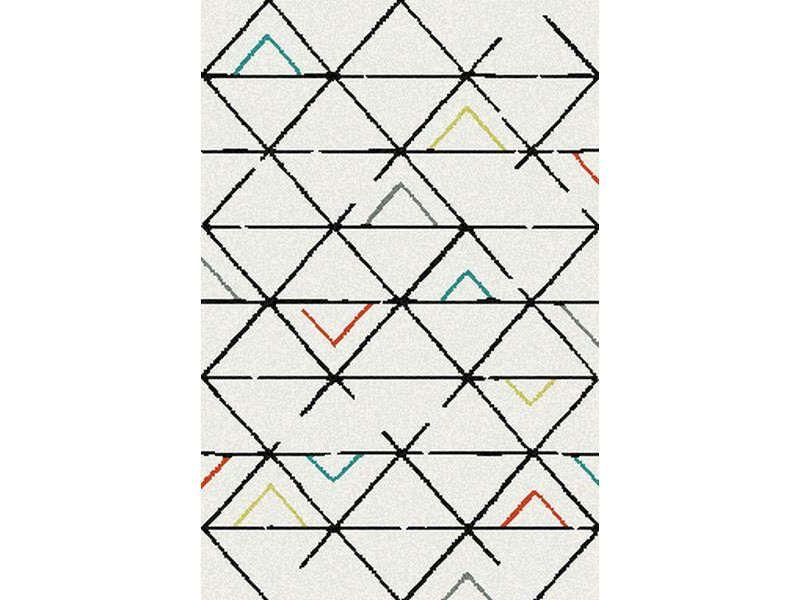tapis 160x230 cm karl coloris beige