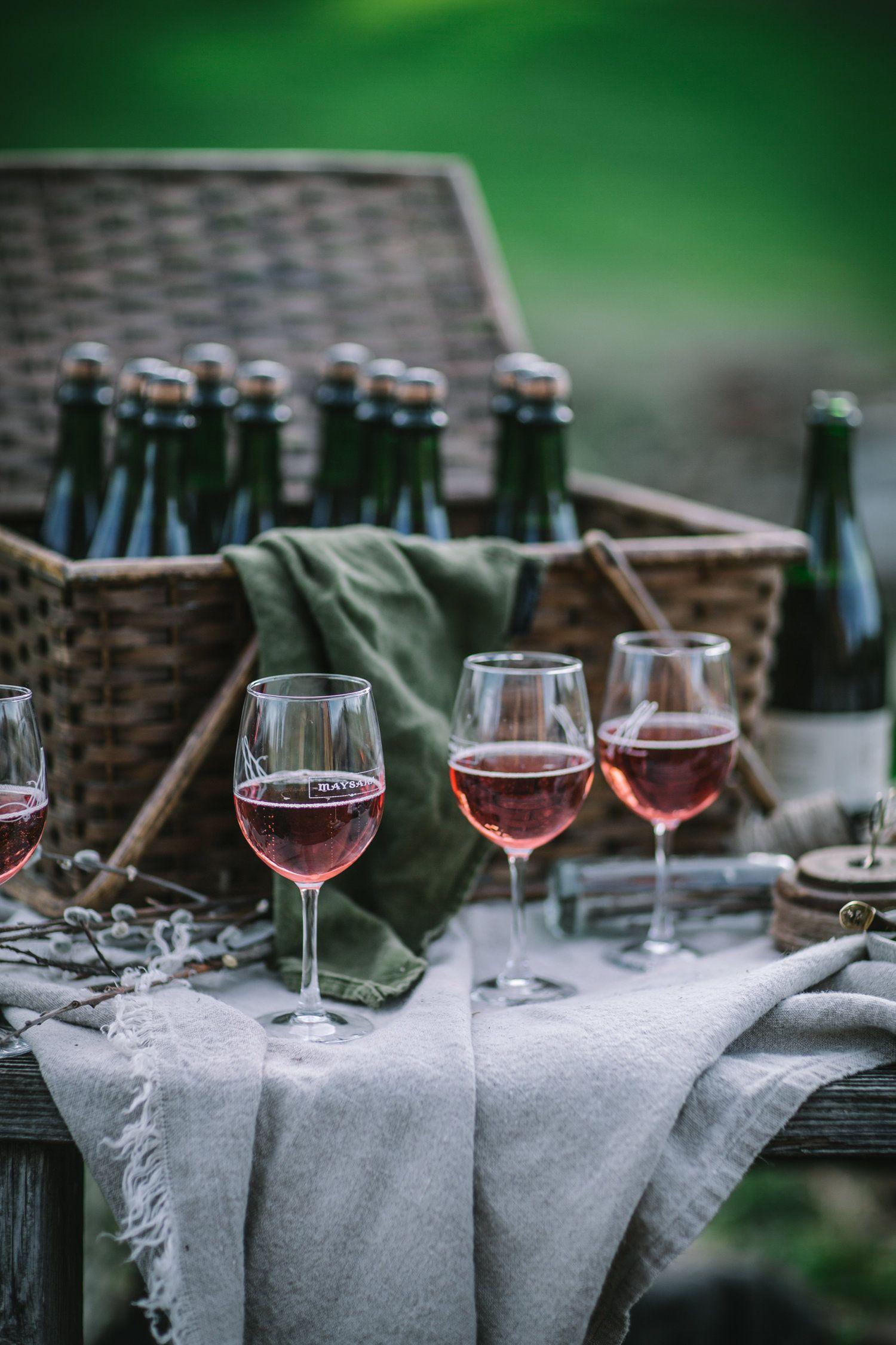 Maysara Wine for a Farm to Table Dinner at Maysara Winery