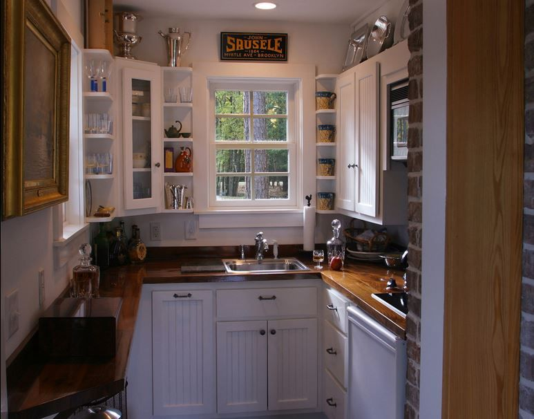 Simple Kitchen Design For Very Small House Tiny House Kitchen