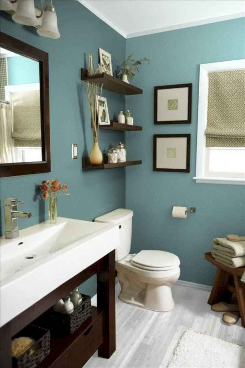Stunning Small Bathroom Remodel Ideas (12 in 2020 | Teal ...