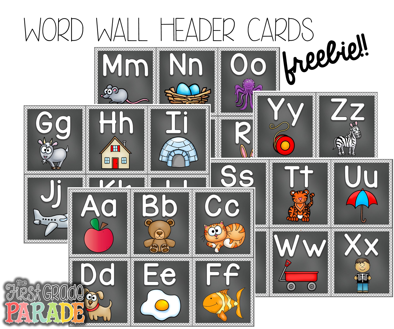 image about Printable Word Wall Letters named Will allow Converse Phrase Partitions Useful Reveals Education