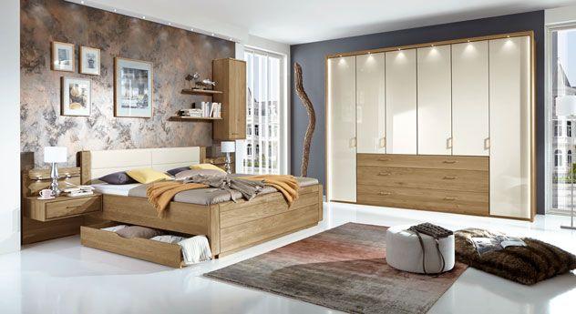 Klassisch Modern Wohnen klassisches komplett schlafzimmer mit teilmassiven möbeln betten