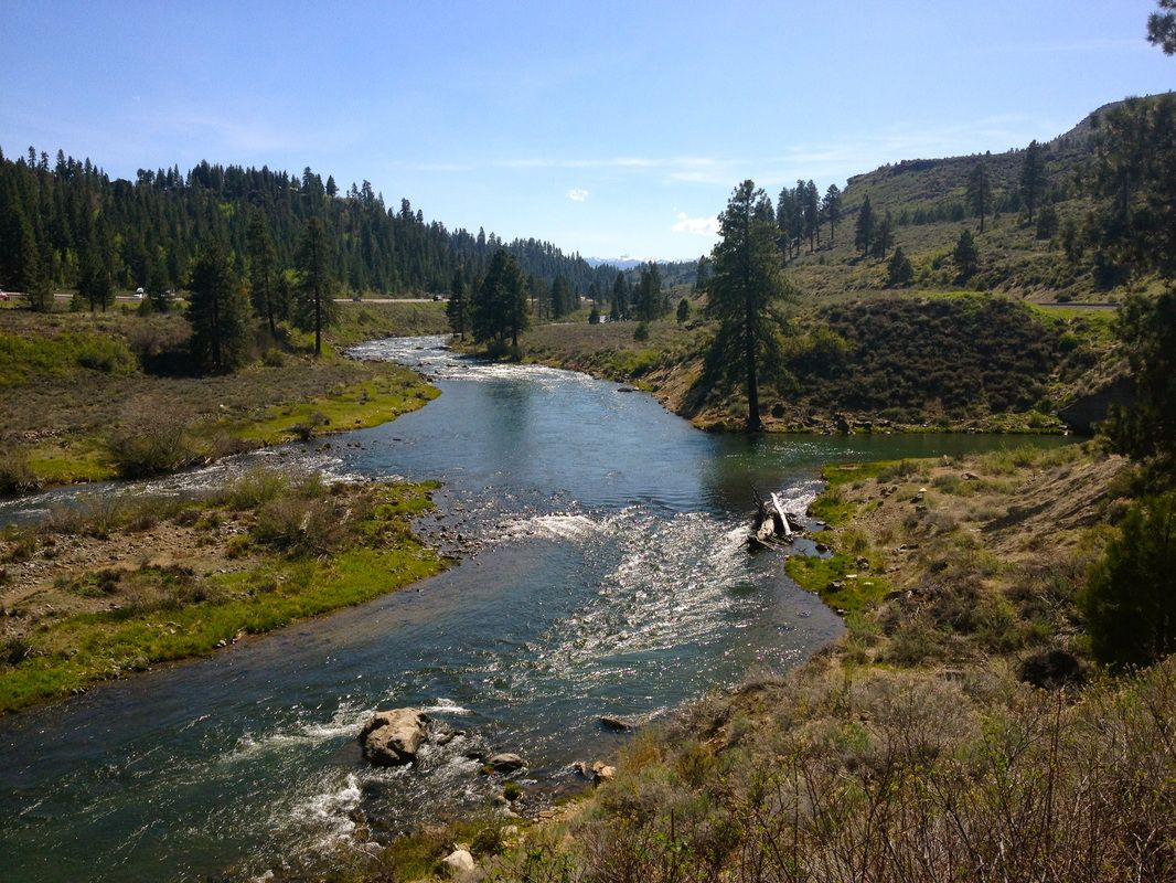 Truckee River Nevada Rivers In California Truckee River