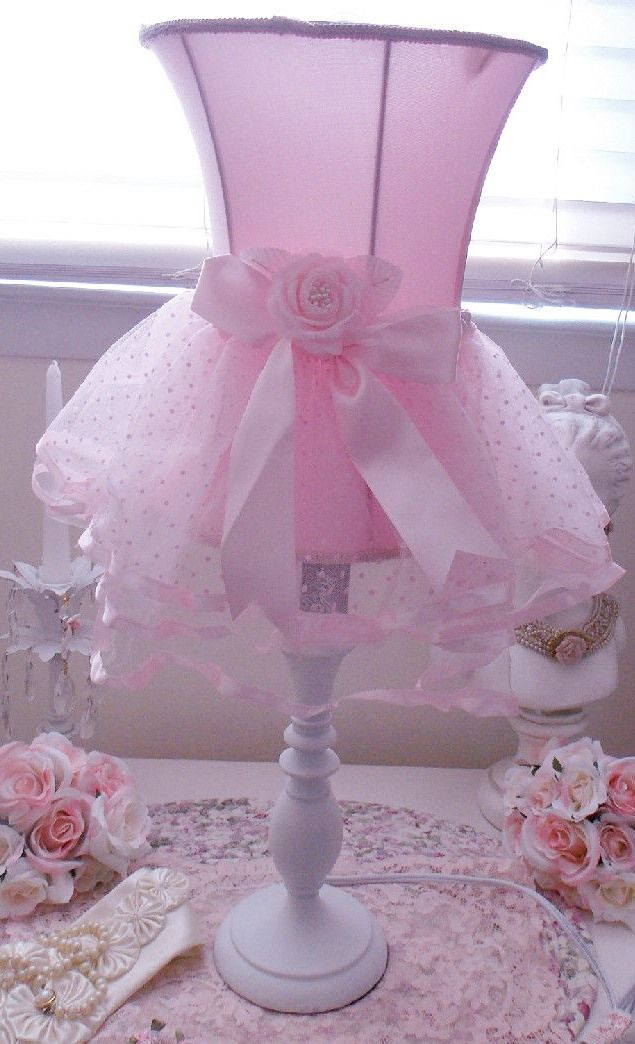 Pink Tutu Lamp