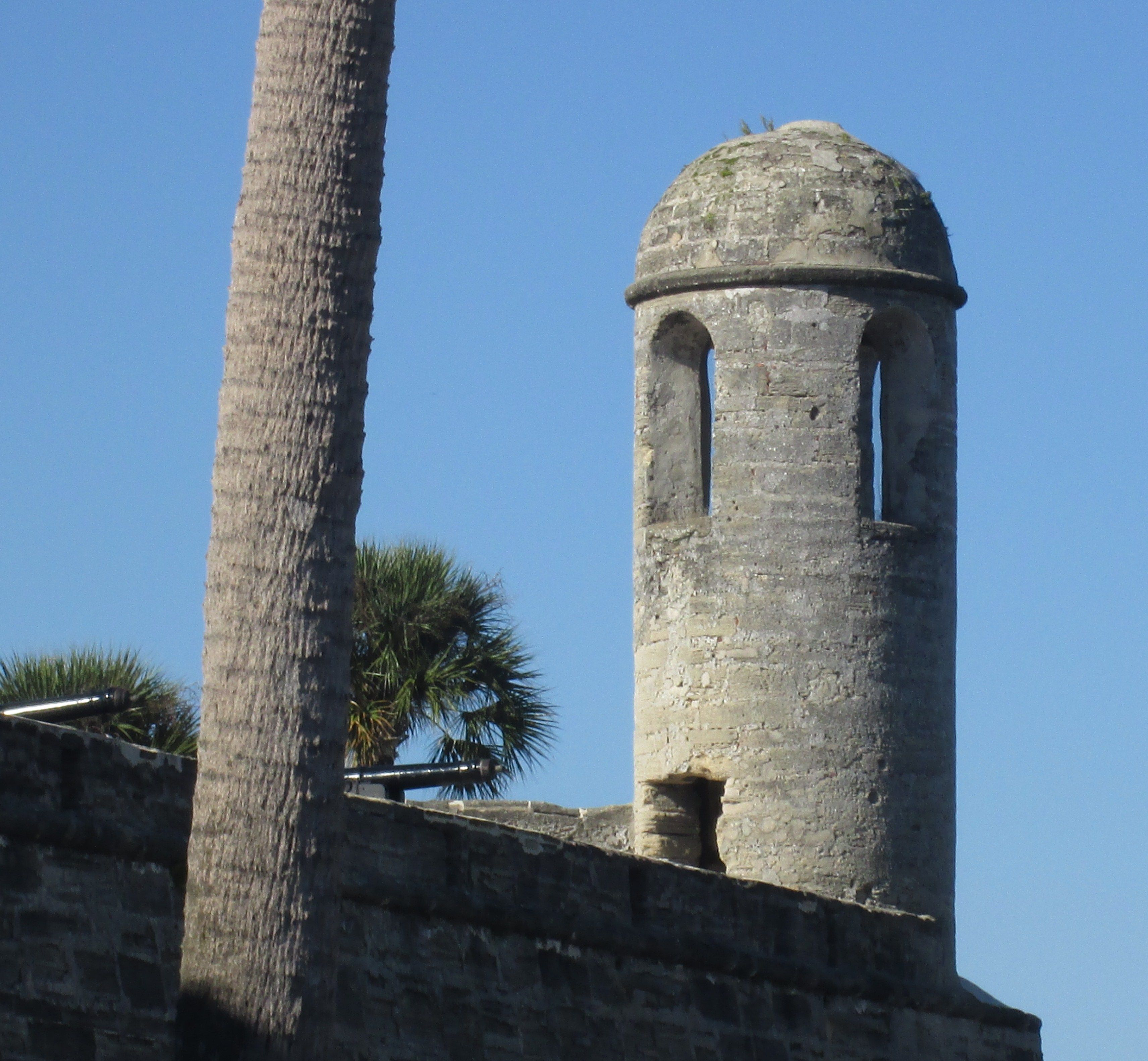 The tower at St. Augustine Fort, St. Augustine, Florida - Oct 2014