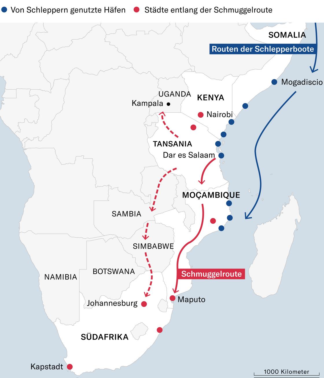 Wie Die Ostkuste Afrikas Zur Heroinkuste Wurde Nzz Afrika Maputo Sambia