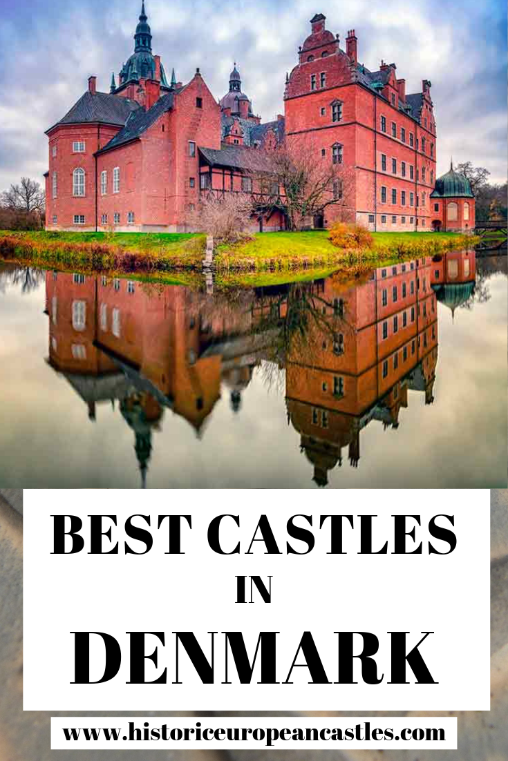 Denmark has many beautiful castles worth visiting. In this post find the19 Best Castles in Denmark to visit on your next trip. #europeancastles #castles #castlesindenmark