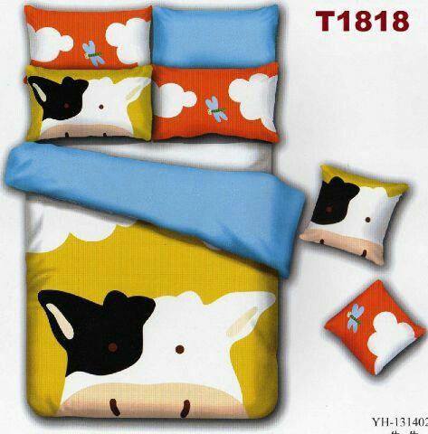 Sprei & bed cover made by order bahan katun jepang, pemesanan ke +6281554469976