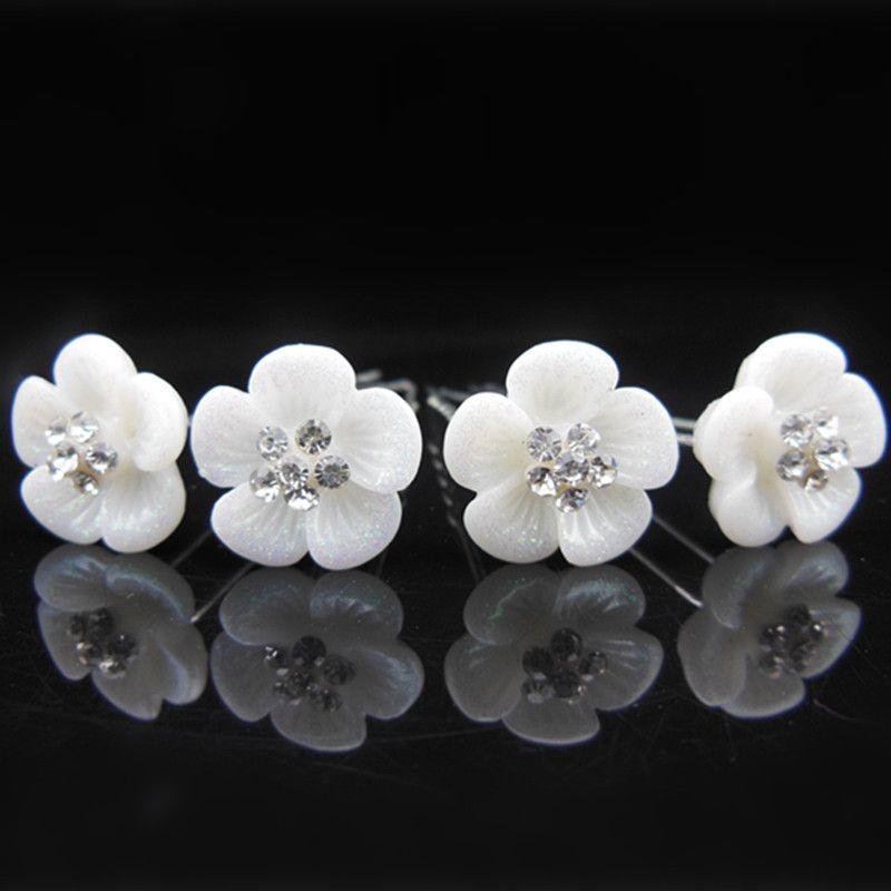crystal U shaped wedding hair accessories