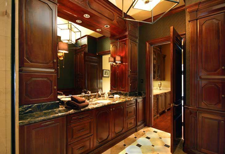 Italian Renaissance Masculine Bathroom Designed By Tracy Rasor And Alana  Villanueva, Dallas Design Group Interiors