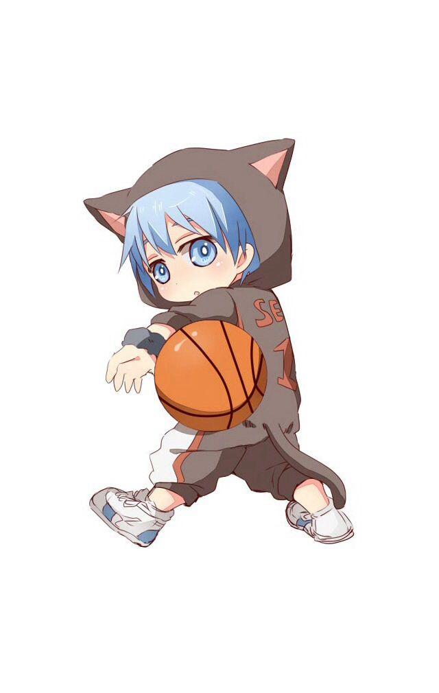 Kuruko Chibi Animal Form Kuroko No Basket Cute Anime Character Kawaii Chibi Basketball boy anime wallpaper