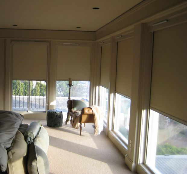 Lutron Custom Painted And Cut Manual Shade System Hard