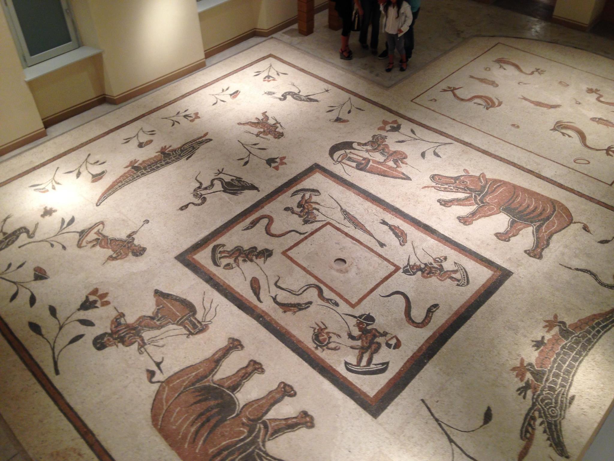 Mosaico Museo Città di Cannara (PG)