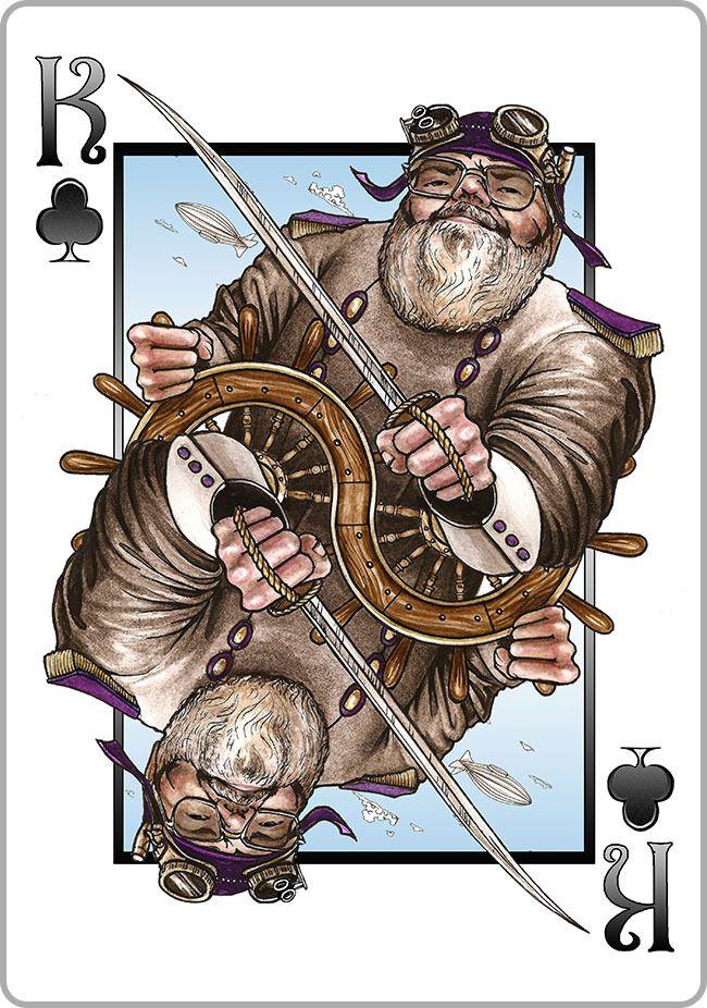 Steampunk Playing cards - Kickstarter - Ends Friday January 10, 2014   Kickstarter   BoardGameGeek