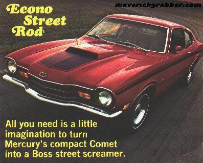1972 Mercury Comet Gt Cyclone Gt Classic Cars Comet