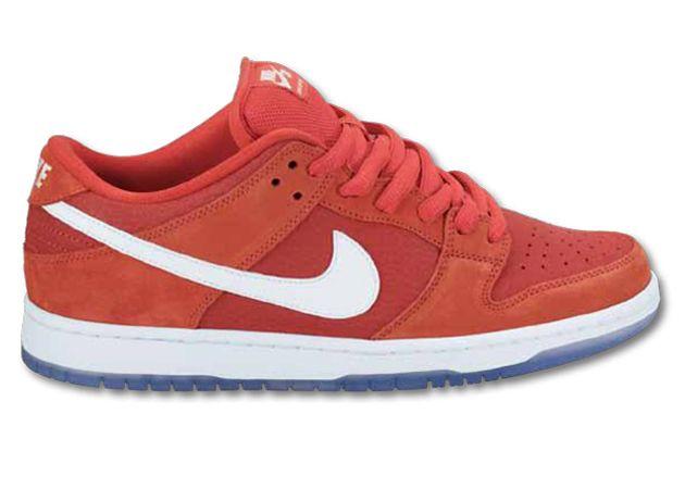 Nike Sb Dunk Low Red White Zima 2012